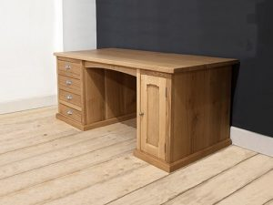 Handmade desk in English oak
