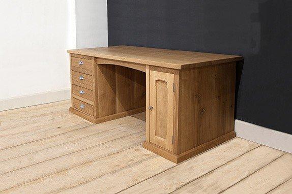 Handmade desk in English oak