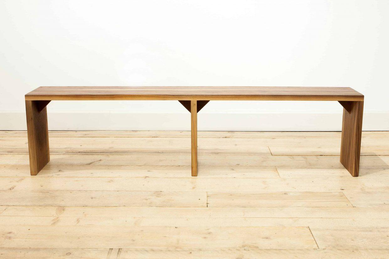 sleek modern bench steven baker furniture